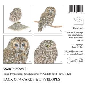 Wildlife Card Packs by Joanne T Kell